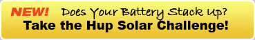 Your current battery price per KWh vs HUP Solar!  Take the HUP Solar Challenge!